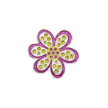 Ball marker Navika • Daisy Purple