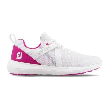 Buty damskie FootJoy Flex Biało Różowe